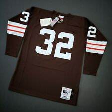 100% Authentic Jim Brown Mitchell Ness 1964 Browns Jersey Size 40 M Mens