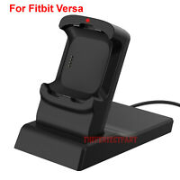 For Fitbit Versa Charger Charging Case Stand Replacement Cradle Dock Accessories