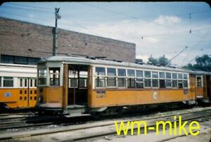 #285 - TROLLEY - Boston MTA car #5752 Original slide