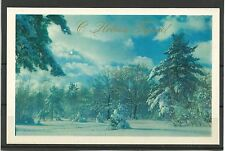 URSS 1973 New Year Russian inverno CONGRATULATION Inverno Forest MC MK USSR NEW!