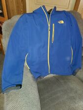 The North Face Jacket Mens XXL. Blue With Yellow Trim.