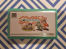 Nintendo Game And & Watch - Bomb Sweeper Handheld Console System Multi Screen