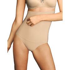 0d1f77e0c6050 Maidenform Nude Solid 4684 Tummy Firm Control Stretch Brief Plus 4xl