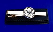 U.S. Navy Tie Clip United States Navy Tie Bar Military Gift Idea USA