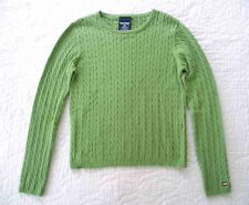 Polo Ralph Lauren - NWOT Green Cable & ribbed Sweater Cotton - L
