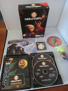 Halcyon 6 Starbase Commander Indiebox PC Game - First Edition Box Set - Complete