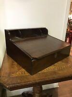 Mahogany Table Top Writing Box