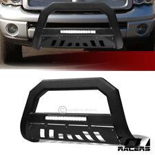 For 20022003 2009 Dodge Ram Matte Black Avt Aluminum Led Bull Bar Bumper Guard Fits 2005 Dodge Ram 1500
