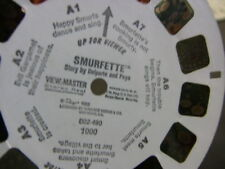 """VIEW-MASTER REEL, 1982, """"SMURFETTE""""  #002-490 1000"""
