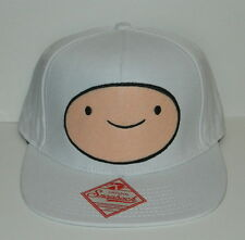 Adventure Time Finn Snapback Baseball Style Hat TV Animation Series, NEW UNUSED