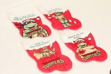 Teenage Mutant Ninja Turtles Set of 4 MINI Stockings! RARE!
