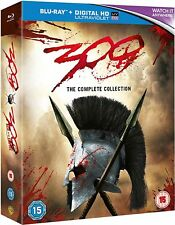 300 / 300: Rise of an Empire 1 2 Double Pack (Blu-ray, 2 Discs) *NEW/SEALED*