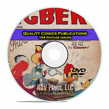 Quality Comics, Giggle, Ha Ha, Funny Films, Eggbert, Golden Age Comics DVD D20