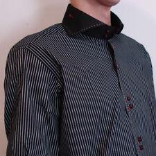Regular Size M Button Cuff Formal Shirts for Men