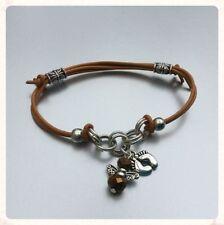 Leather Chain/Link Adjustable Costume Bracelets