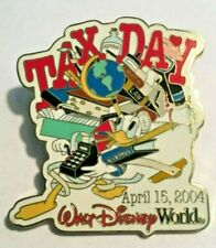 Donald Duck Tax Day 2004 Calculator Disney WDW Pin LE 2500 #29631