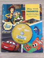 Disney Pixar Favourites Read Along CD Collection 3 in 1 Toy Story Cars Nemo Book