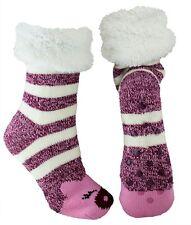 Jacques Moret Cozy Warmers Faux Fur Socks - Pig