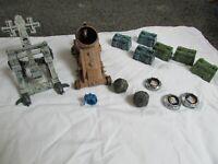 Battleground Crossbows & and Catapults Knight Trebuchet vs Orc Mortar