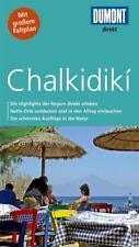 Chalkidiki Griechenland UNGELESEN + Karte  Dumont direkt 2015
