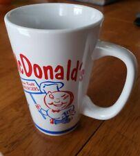 McDonald's Coffee Mug Ceramic Collectible Group II Communications custom built