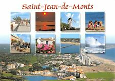 B51176 Saint Jean de Monts moulin de vent wind mill multi vues  france
