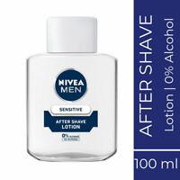 Nivea Men Sensitive After Shave Lotion 100ml Extra gentle formula with Chamomile