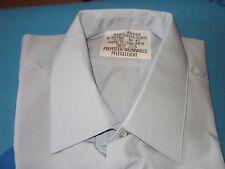 RAWE-RHEDA-Herren-Hemd-Gr-41-Hellblau NEU Polyester/Baumwolle Pflegeleicht Norm