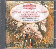 Strauss-Martinu-Francaix CD Hautbois concertos l 'Horloge de Flore Nouveau/OVP