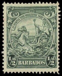 """BARBADOS 193 (SG248) - King George VI """"Colonial Badge"""" (pf12876)"""