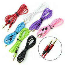 Useful 3.5mm Male-Male Stereo Jack Audio AUX Patch Cable Cord Cell Phone Random