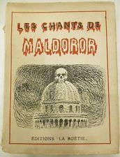 Le Chants de Maldoror, Surrealismus, Comte De Lautreamont, Isidore Ducasse,
