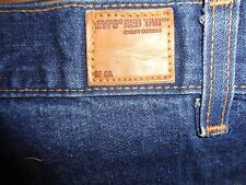 LEVI'S SF, CA RED TAB STITCHED REINFORCED KNEE WIDE FIT JEANS 38X30