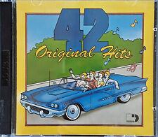 SESSIONS PRESENTS - 42 ORIGINAL HITS - WARNER SPEC. PRODUCTS - (2) CD SET