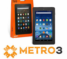 New Amazon Kindle FIRE Tablet Ereader Dual Cams w Glorious IPS Display