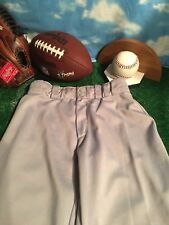 Wilson Youth Baseball Pants Grey Youth Size Extra Large #19