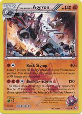 Team Magma's Aggron Holo Rare Pokemon Card Team Aqua vs Magma 14/34
