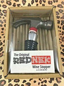 The Original RedNek Wine Stopper by Carson HAMMER Bottle Stoppers