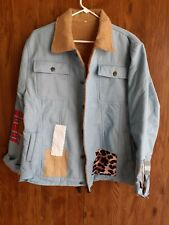 LADIES PATCH WORK JACKET AND JEANS OUTFIT