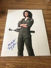 Sigourney Weaver Autographed 11x14 Photo Alien Avatar Galaxy Quest The Defenders