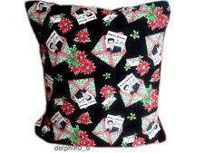 Novelty Christmas 100% Cotton Decorative Cushions