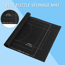 US 26*46 inch Jigsaw Puzzle Storage Mat Roll Up Puzzle Felt For Up To 1500pcs