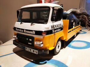 Miniature Saviem SG2 Dépannage Renault Super Goélette 1968 1/18 Otto Ottomobile