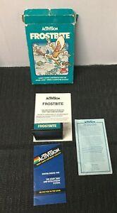 Activision FROSTBITE Atari 2600 Video Game In Box