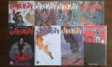 EXTREMITY Image Comics #1-7 + #7 walking dead tribute variant First Print