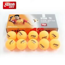 DHS 1-Star Ping Pong Table Tennis Balls 40mm - 10 pcs (Yellow)