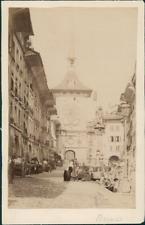 Suisse, Berne, ca. 1880  Vintage albumen print.  Tirage albuminé  10x15  C