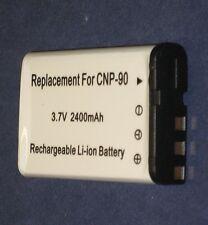 Batterie 2400mAh type NP-90 NP-90DBA Pour CASIO Exilim Hi-Zoom EX-H15