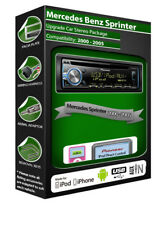 Mercedes Sprinter CD player, Pioneer headunit plays iPod iPhone Android USB AUX