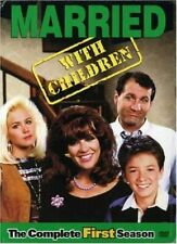 MARRIED WITH CHILDREN COMPLETE SEASON 1 FIRST DVD USA REGION 1 WITH SLIPCASE